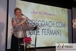 Julie Ferman (Cupid's Coach) Winner of Best Matchmaker at the 2010 Internet Dating Industry Awards in Miami