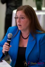 Mae Flexer (Representative from Connecticut) discussing Online Dating Legislation at the 2011 L.A. Online Dating Summit and Convention