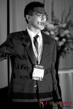 Douglass Lee (Vice President at Click2Asia) at the 2011 Internet Dating Industry Conference in L.A.