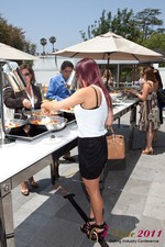 Lunch at the June 22-24, 2011 L.A. Internet and Mobile Dating Industry Conference