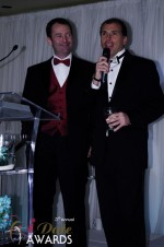 Mark Brooks and Marc Lesnick at the 2011 Miami iDate Awards