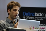 David Khalil (Co-Founder of eDarling) at iDate2012 Köln