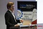 Florian Braunschweig (CTO of Lovoo) at the 2012 European Union Online Dating Industry Conference in Germany