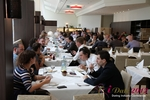 Lunch  at the September 10-11, 2012 Mobile and Internet Dating Industry Conference in Germany