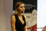 Oksana Reutova (Head of Affiliates at UpForIt Networks) at the 2012 European Internet Dating Industry Conference in Köln
