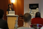 Tanya Fathers (CEO of Dating Factory) at the September 10-11, 2012 Mobile and Internet Dating Industry Conference in Köln