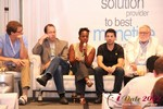 Robinne Burrell (VP at Match.com) during the Final Panel at iDate2012 West