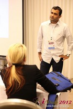 Dwipal Desai (CEO of TheIceBreak.com) covers monetization during a relationship at the June 20-22, 2012 Mobile Dating Industry Conference in Los Angeles
