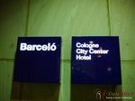 The Barcelo Hotel at the September 16-17, 2013 Mobile and Online Dating Industry Conference in Cologne