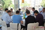 Lunch at the September 16-17, 2013 Cologne European Online and Mobile Dating Industry Conference