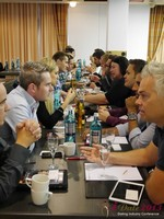 Speed Networking at the 2013 Cologne European Mobile and Internet Dating Summit and Convention