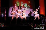 Las Vegas showgirls begin the festivities at the 2013 Las Vegas iDate Awards