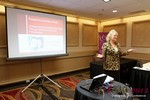 Julie Ferman (eLove / Cupids Coach) at the January 16-19, 2013 Las Vegas Internet Dating Super Conference