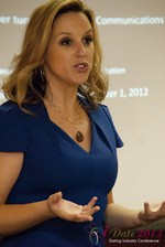 Rachel DeAlto (The Flirt Expert) at the January 16-19, 2013 Las Vegas Internet Dating Super Conference