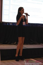 Rosalie Sutherland Of AnastasiaDate Speaking On Mobile Dating Conversions  at the June 4-6, 2014 Los Angeles Online and Mobile Dating Business Conference