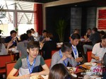 Lunch at iDate2015 Beijing