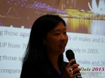 Violet Lim - CEO of Lunch Actually at the 2015 Asia Online Dating Industry Conference in Beijing