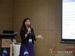 Violet Lim - CEO of Lunch Actually at the 2015 Beijing Asia Mobile and Internet Dating Expo and Convention