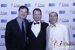 eHarmony's Grant Langston with Mark Brooks and Marc Lesnick at the 2015 iDate Awards Ceremony