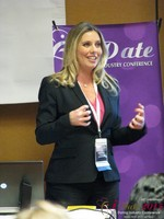 Author Laurel House - Speaking on Womens Empowerment and Online Dating at the 2015 Internet Dating Super Conference in Las Vegas