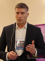 Hristo Zlatarsky CEO Elitebook.bg With Insights On The Bulgarian Mobile And Online Dating Market at the UK iDate conference and expo for matchmakers and online dating professionals in 2015