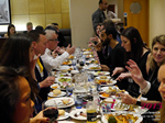 Lunch Among European And Global Dating Industry Executives   at the 12th Annual E.U. iDate Mobile Dating Business Executive Convention and Trade Show