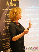 Mary Balfour CEO And Managing Director Of Drawing Down The Moon  at the October 14-16, 2015 London E.U. Online and Mobile Dating Industry Conference