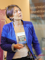 Pauline Tourneur General Manager Of Attractive World Speaking On The French Online And Mobile Dating Market at the October 14-16, 2015 Mobile and Online Dating Industry Conference in London