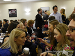 Speed Networking Among CEOs General Managers And Owners Of Dating Sites Apps And Matchmaking Businesses  at the E.U. iDate conference and expo for matchmakers and online dating professionals in 2015