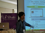 Takuya Iwamoto (Diverse-yyc-co-jp)  at the June 8-10, 2016 Los Angeles Internet and Mobile Dating Negócio Conference