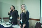 Genevieve Zawada and Arlene Vasquez reporting on the 2016 State of Matchmaking in Europe and the U.K.  at the September 26-28, 2016 conference and expo for online dating and matchmaking in Londres