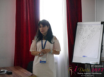 Elena Vygnanyuk at the 49th iDate Dating Agency Industry Trade Show