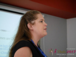 Julia Meszaros at the July 19-21, 2017 Dating Agency Business Conference in Belarus