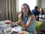 Lunch at the July 19-21, 2017 Belarus Dating Agency Business Conference