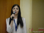 Olga Resnikova - CEO of Ukrainian Space at the 52nd Dating Agency Indústria Conference in